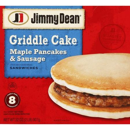 De West Wind Jimmy Dean Griddle Cake Maple Pancakes Sausage