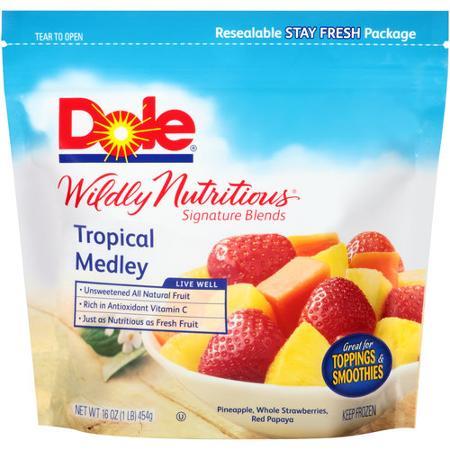 De West Wind Dole Wildly Nutritious Tropical Medley Mixed Fruit 16 Oz