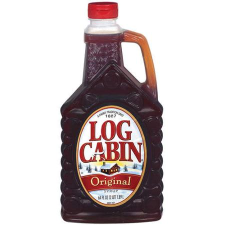 Genial Log Cabin: Original Syrup, 64 Oz