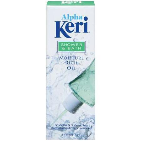 Alpha Keri Shower And Bath Moisture Rich Oil 8 Fl Oz