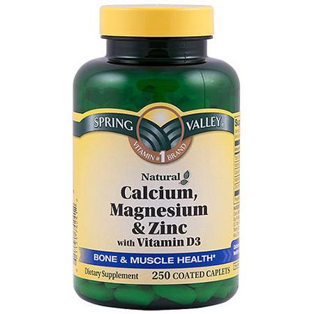 De West Wind Spring Valley Calcium Magnesium Zinc Bone Health