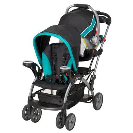 Baby Trend Sit N Stand Ultra Infant Kids Double Stroller Lagoon