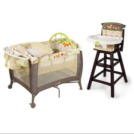 Summer Infant Fox U0026 Friends Grow With Me Play Yard U0026 Changer With High Chair