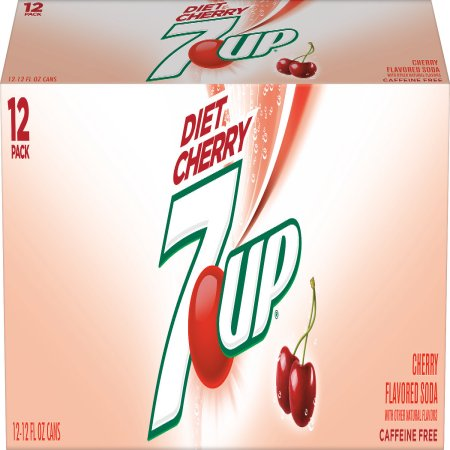 De West Wind Diet 7up Cherry 12 Fl Oz 12 Pack
